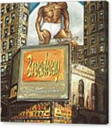 Broadway Billboards - New York Art Canvas Print