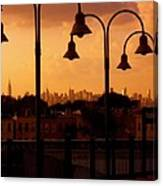 Broadway Junction In Brooklyn, New York Canvas Print