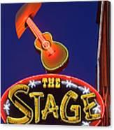 Broadway Neon Sign Canvas Print