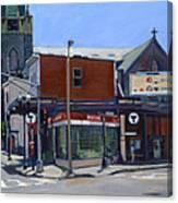 Broadway Station Canvas Print