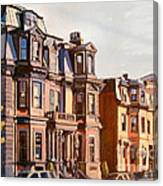 Broadway View Canvas Print