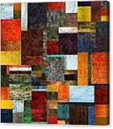Brocade Color Collage 2.0 Canvas Print