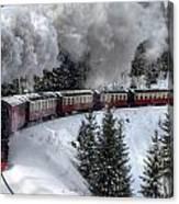 Brockenbahn Canvas Print