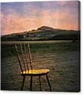 Broken Chair Canvas Print