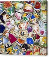 Broken China Canvas Print