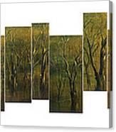 Broken Forest Canvas Print