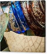 Broken Glass From The Past Canvas Print