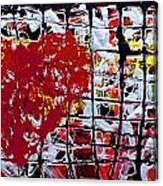 Broken Heart 2 Canvas Print