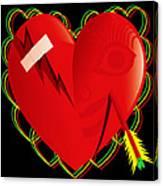 Broken Heart Mended Canvas Print