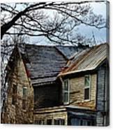 Broken Home Canvas Print