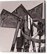 Broken Mill Canvas Print