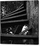 Broken Stairs Canvas Print