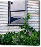 Broken Window Canvas Print