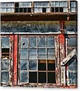 Broken Windows Canvas Print