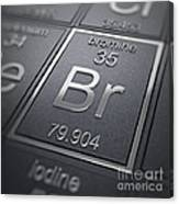 Bromine Chemical Element Canvas Print
