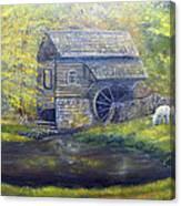 Bromley Mill At Cuttalossa Farm Canvas Print