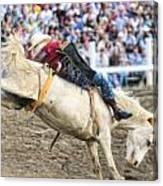 Bronc Rider 001 Canvas Print