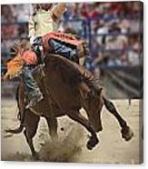 Bronco Rider Canvas Print