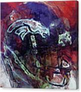 Broncos Art  Canvas Print