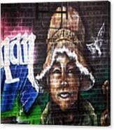 Bronx Graffiti. Jonathan Canvas Print