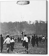 Bronx Parachute Leap Canvas Print