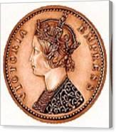Bronze Empress Victoria Canvas Print