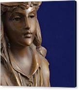Bronze Lady Canvas Print