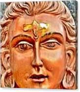 Bronze Shiva Statue - Uttarkashi India Canvas Print