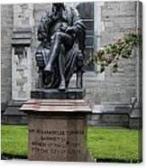 Bronze Statue Of Sir Benjamin Lee Guinness  Canvas Print