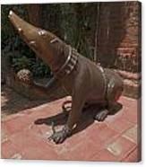 Bronze Statue Canvas Print