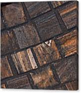Bronze Tile Squares Canvas Print
