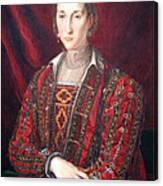 Bronzino's Eleonora Di Toledo Canvas Print