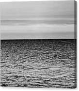 Brooding Sky Over Lake Michigan Canvas Print