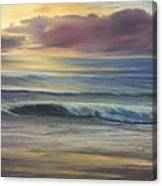 Brookings Beach After The Storm Canvas Print