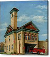 Brookline Historical Engine House Canvas Print