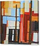 Brooklyn Abstract Canvas Print
