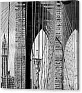 Brooklyn Bridge New York City Usa Canvas Print