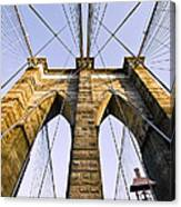 Brooklyn Bridge01 Canvas Print