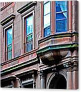 Brooklyn Heights - Nyc - Classic Building And Bike Canvas Print