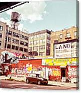 Brooklyn - New York City - Williamsburg Canvas Print