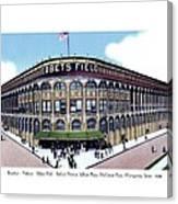 Brooklyn - New York - Flatbush - Ebbets Field - 1928 Canvas Print