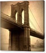 Brooklyn Nostalgia Canvas Print
