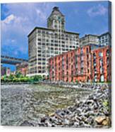 Brooklyn Old Tobacco Warehouse Canvas Print