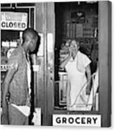 Brooklyn Riots, 1964 Canvas Print
