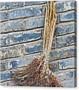 Broom, China Canvas Print
