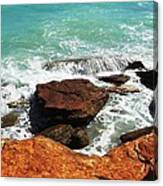 Broome Breaks Canvas Print