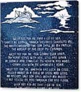 Brotherhood Of The Sea Canvas Print