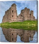 Brough Castle Canvas Print