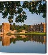 Broughton Castle Canvas Print