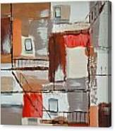 Brown Alley 1 Canvas Print